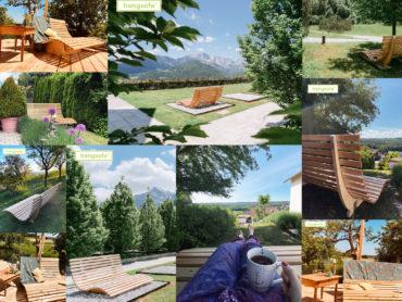 Bild zeigt kleine Sammlung von hangsofabildern